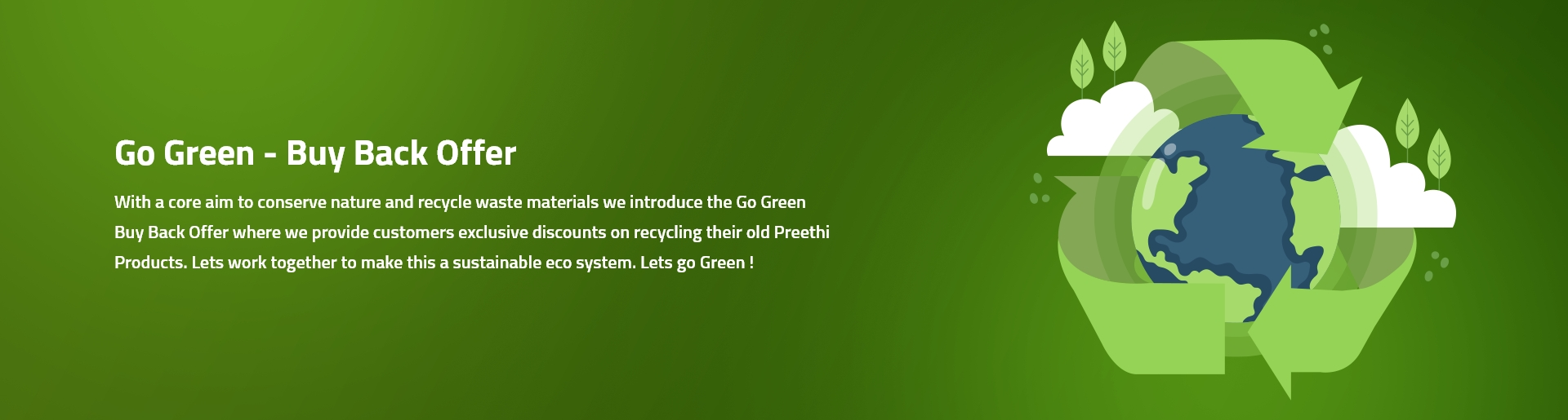 Go green-Recycle your kitchen appliances
