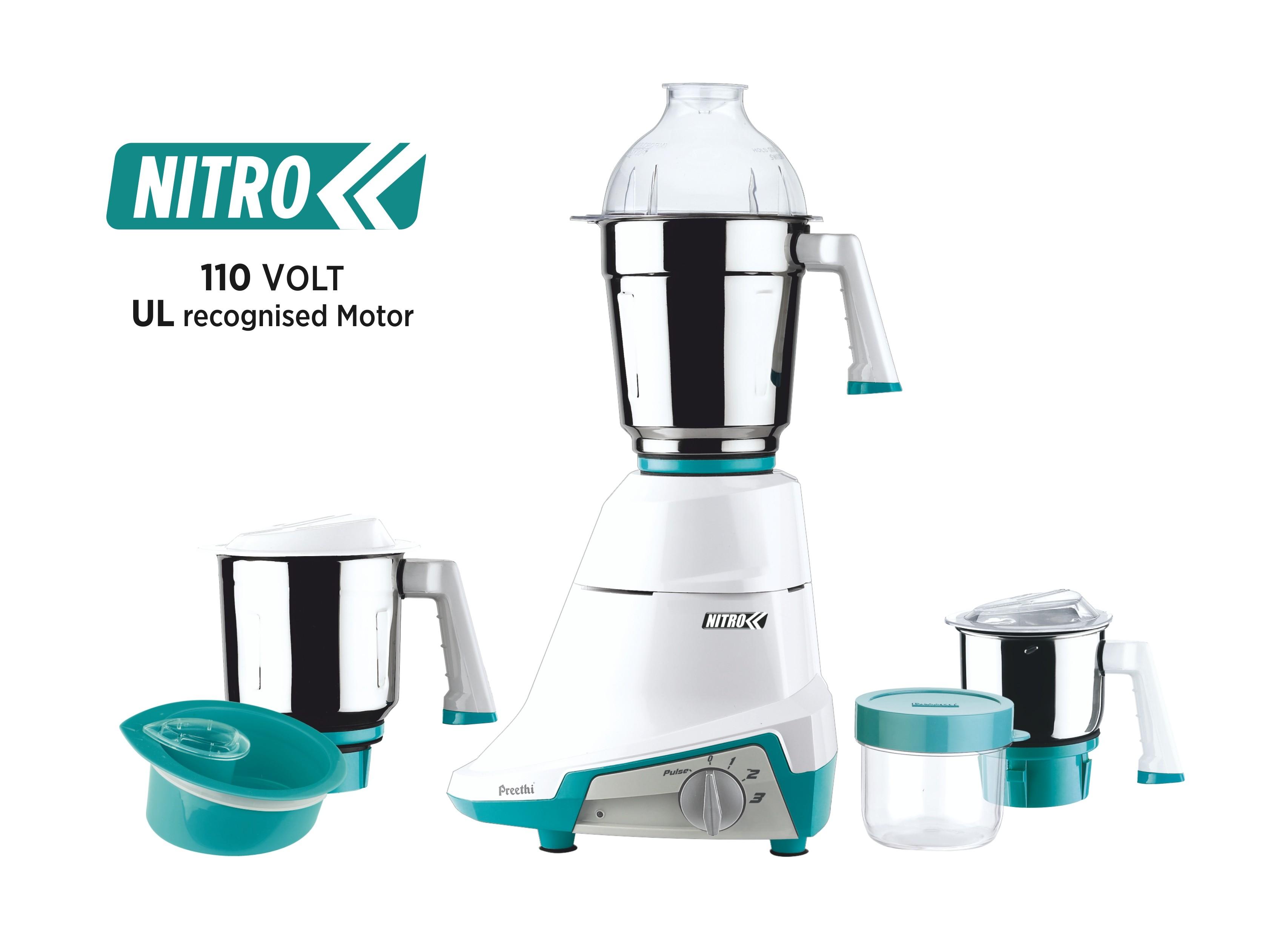 preethi-mg155-nitro-3-jar-mixer-grinder-110-volt